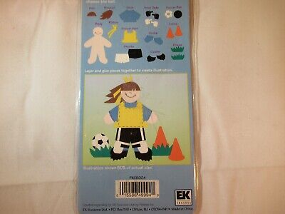 Sunny Soccer Paperkins Collectable Paper Dolls
