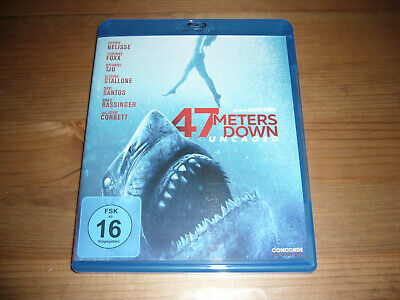 47 METERS DOWN: UNCAGED -  Blu-ray  -  Horror-Film -  Top Zustand !