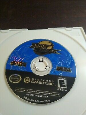 Sonic Adventure 2 Battle Nintendo GameCube Tested Authentic US Version Disc Only