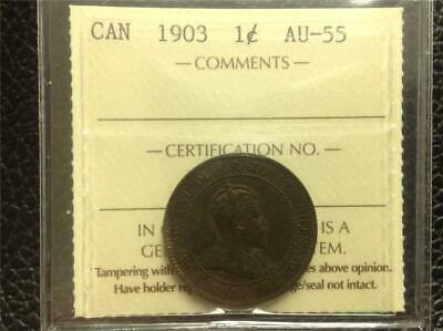 1903 - ICCS - AU-55 - Large Cent - Scroll down for all images