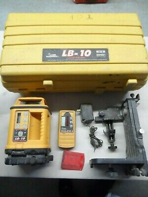 Laser Alignment LB-10 Laser Level with Receiver -Works Great-