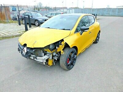 Renault Clio  Renaultsport Rs 1.6 200 Lux  2013 Damaged Repairable Salvage