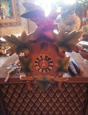 antique German cookoo clock for parts or repair