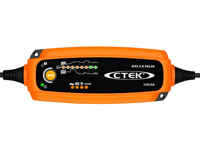 Battery Charger CTEK MXS 5.0 Polar Ideal battery charger - Orange