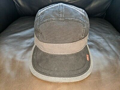 Kurtz Gray Military Hat Cap Adjustable Metal Snaps