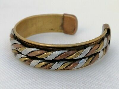 Ancient Bracelet Viking Bronze Rare Twested Authentic Artifact Very Stunning
