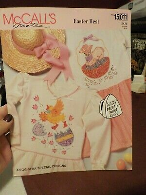 Very Nice Mcall's Creates Easter Best Easy Press N Paint Guide 4 Designs