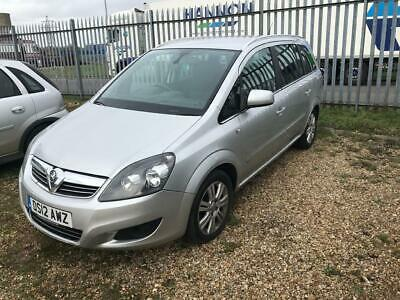 2012 Vauxhall Zafira 1.7 CDTi Design for Parts Spares or Repair - NO RESERVE!