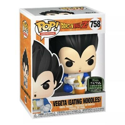 Funko Pop! Vegeta Eating Noodles 2020 ECCC Shared Exclusive DBZ Preorder
