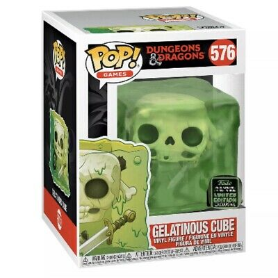 Gelatinous Cube - Dungeons & Dragons Funko Pop 2020 ECCC Excl Shared Pre-Order