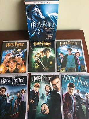 Harry Potter Years 1-6 Gift Set [Widescreen Edition] Box Set- Slip Cover