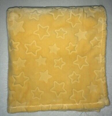 Little Miracles Yellow Star Embossed Baby Blanket