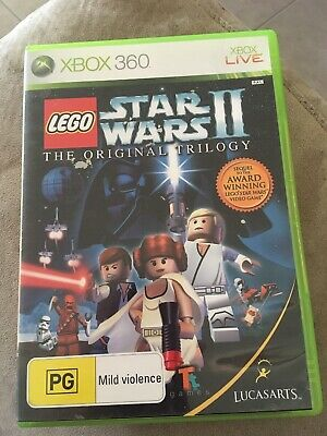 LEGO Star Wars 2 II The Original Trilogy Xbox 360 Game USED