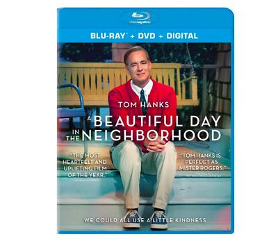 A Beautiful Day in the Neighborhood Blu Ray & DVD 2-Disc Set 2020 Movie Tom Hank