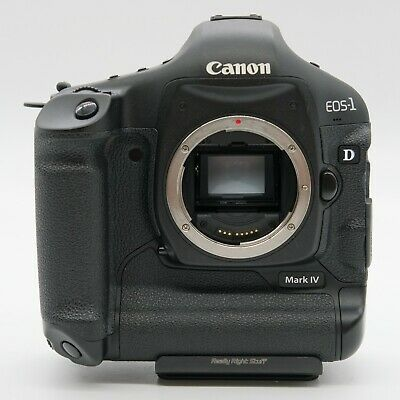 Canon EOS-1 D Mark IV Gold Camera Body (Black) - low shutter count!