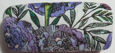 Vera Bradley Clamshell Sunglasses Glasses Case LAVENDER MEADOW new
