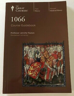 The Great Courses 1066 Guidebook Only No CD