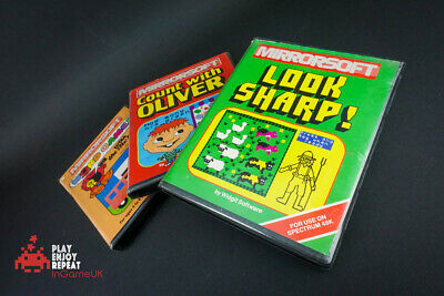 MIRRORSOFT Games Bundle Look Sharpe Count with Oliver and Word Games