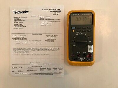 Fluke 87 True RMS Digital MultiMeter