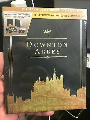 Downton Abbey Movie 2019 Deluxe Limited Edition BLU RAY +DVD+ DIGITAL- Brand New