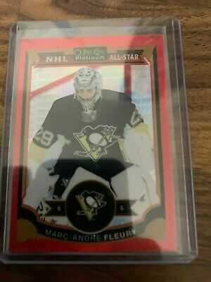 2015-16 O-Pee-Chee Platinum Red Prism Marc-Andre Fleury All-Star