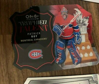 2015-16 O-Pee-Chee Platinum Patrick Roy Trophied Talent Die Cuts #TT5