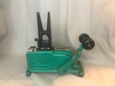 Vintage B&K Floral Stemming Machine with Weight.  BK-1 (Stemmer)