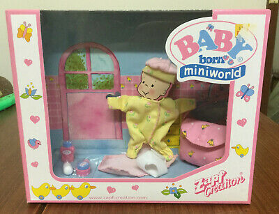 Baby Born Miniworld - Outfit and nappy bag - NRFB