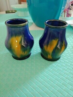 Pair Of Mc Hugh Miniature Vases