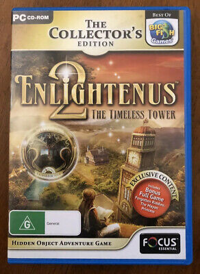 Enlightenus 2 The Timeless Tower Game PC Hidden Object Mystery Puzzle Adventure