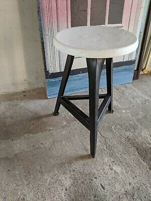 Hocker Werkstatthocker Art Rowag Industrie Design Vintage Alt Antik