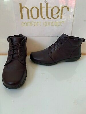 Hotter Ellery Leather Boots Size UK 7 EU 41
