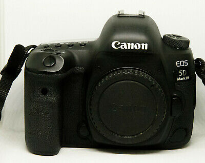 Canon EOS 5D Mark IV with Canon Log 30.4MP DSLR-Kamera - Schwarz