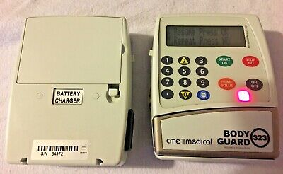CME BodyGuard 323 Multi Therapy Infusion Pump with 2 batteries