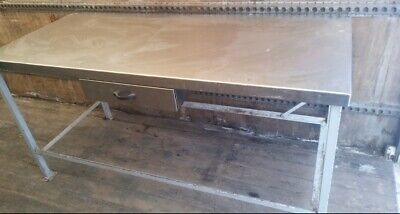 Stainless Steel Prep Table 6ft COMMERCIAL CATERING