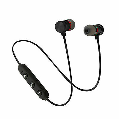 Auricolari Bluetooth Cuffie Magnetiche Sportive Wireless Stereo Xt-6 Fitness