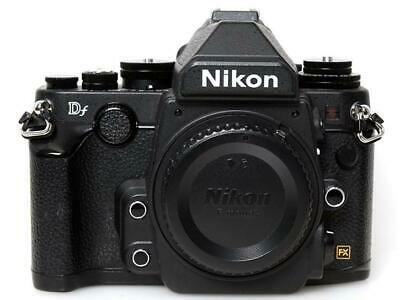 Nikon Df 16.2MP Digital SLR Camera Black Body Full-Frame Excellent Japan F/S