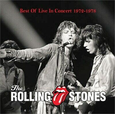 Rolling Stones Best von Konzert 1972-1978 The Rolling Stones 1CD