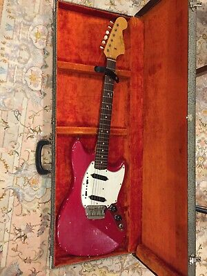 1965 Fender Duo Sonic II Vintage Electric Guitar + Case