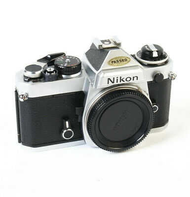 Nikon FE 35mm SLR Film Camera Body Only