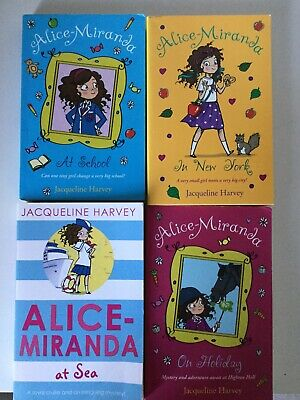 Bundle Of 4 Alice-Miranda Books By Jacqueline Harvey (2 New) For Age 7Yrs +