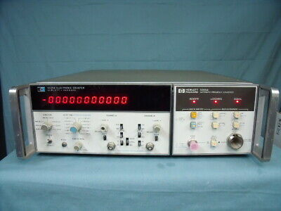 HP Agilent 5345A / 5355A Electronic Counter / Frequency Converter W/ Warranty!