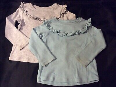 Girls X2 Long Sleeved Tops M&S 1.5-2 Years