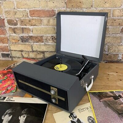 Gorgeous Fidelity HF45, Vintage Record Player with BSR Auto Changer Deck, 1970's