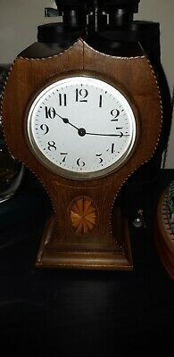 1920 Art Deco Mantle Clock, Duverdrey & Bloquel workings