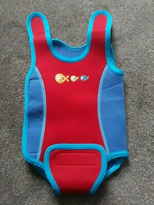 MOTHERCARE Baby Boy or GirlSwimwear Bodysuit Wetsuit 3-6 Months