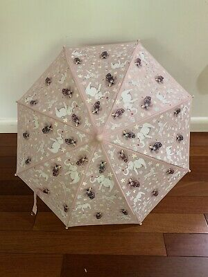 Floss & Rock Pink Umbrella Color Changing Party Animals Design Girls