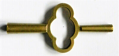 ANTIQUE DOUBLE ENDED CARRIAGE CLOCK KEY No.4