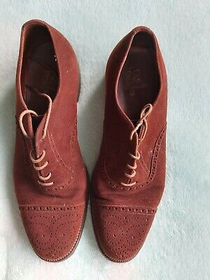 Vintage Mens Shoes by Hutton of Northampton  - Size 7