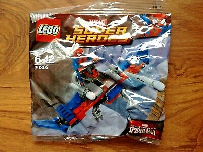 LEGO Marvel Super Heroes: Spiderman Glider (30302) Polybag. Free UK Postage